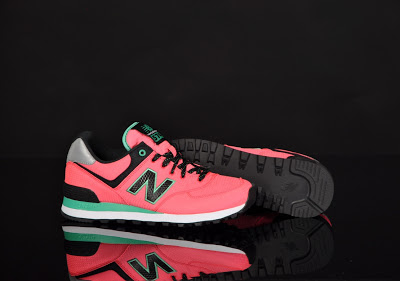 new balance rosa fluor